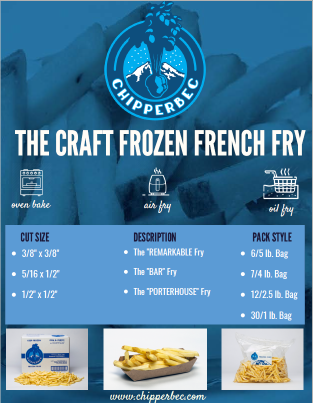 CHIPPERBEC FROZEN French Fry II